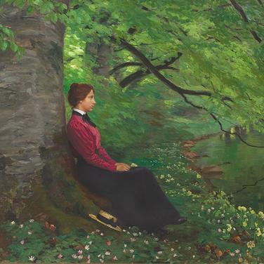 The Artist's Daughter Meta Maren