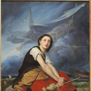 Jeanne d'Arc Ecountant les Voix
