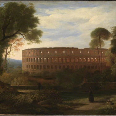 The Colosseum from the Esquiline