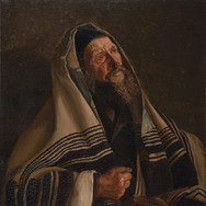 A Rabbi at Prayer