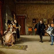 Juan de Austria's Presentation to Emperor Carlos V