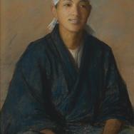 Japanese Boy with Headband