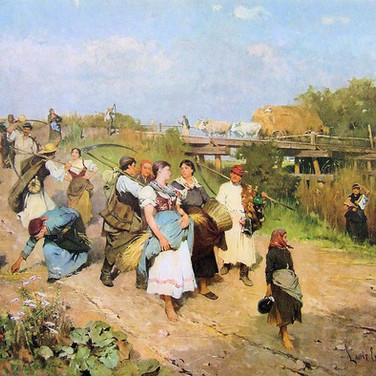 Harvesters Returning Home