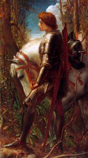 36. Sir Galahad by George Frederick Watts