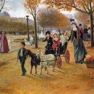 La Promenade au Champs Elysees