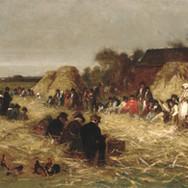 Corn Husking at Nantucket