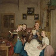 Grandmother and Three Children