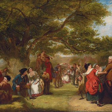 An English Merrymaking a Hundred Years Ago