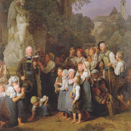 The Veneration of St. John Nepomuk