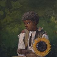Taking Sunflower to Teacher