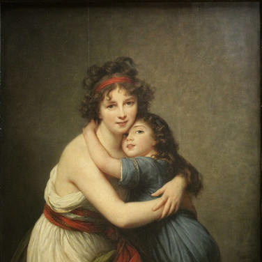 Self-Portrait with Her Daughter