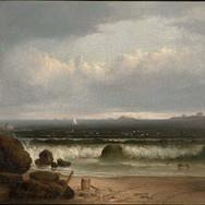 Beach Scene with Rocks II