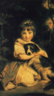 14. Miss Bowles by Sir Joshua Reynolds
