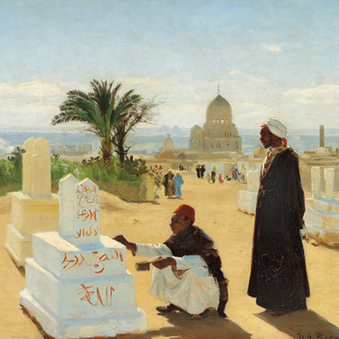 The Graves of the Apostles Jacob and Zacharias Near Cairo