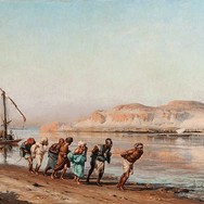 Towing on the Nile