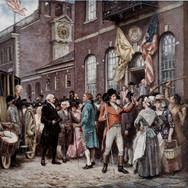 Washington's Inauguration at Philadelphia