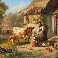 Idyllic Rural Scene