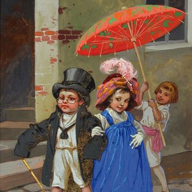 Verkleidete Kinder