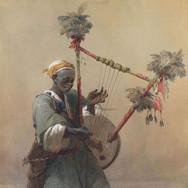 A Nubian Harper