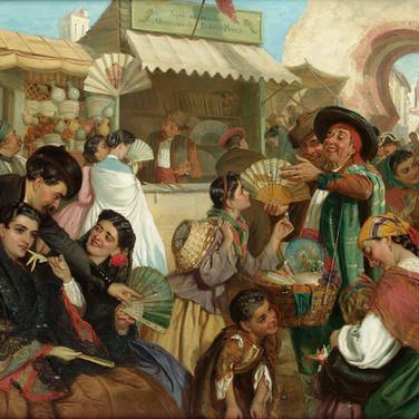 The Fan Seller
