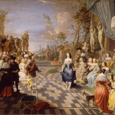 Ball at the Court of John of Austria