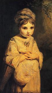 15. The Strawberry Girl by Sir Joshua Reynolds