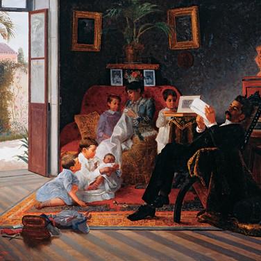 Scene of Adolfo Pinto's Family (Brazil)