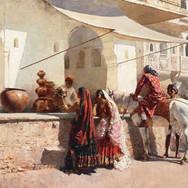 Rajasthani Street Scene