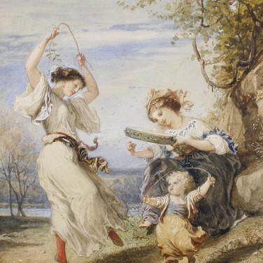 Italian Girls Dancing