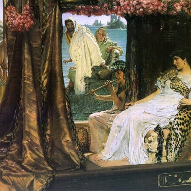 The Meeting of Antony and Cleopatra