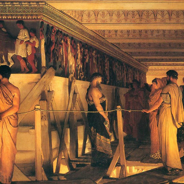Phidias Showing the Frieze of Parthenon to His Friends