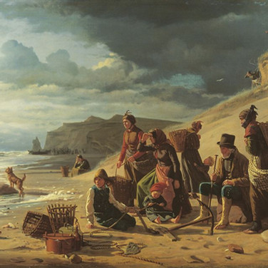 Fishing Families Waiting for Their Men to Return