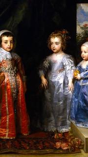 6. Children of Charles I by Sir Anthony Van Dyck