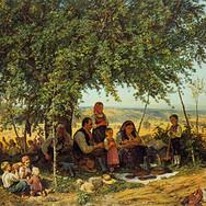 Lunch Break at Harvest
