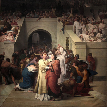 Christian Martyrs Entering the Amphitheatre