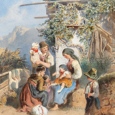 A Peasant Family Idyll