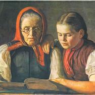 Mutter und Schwester des Kunstlers