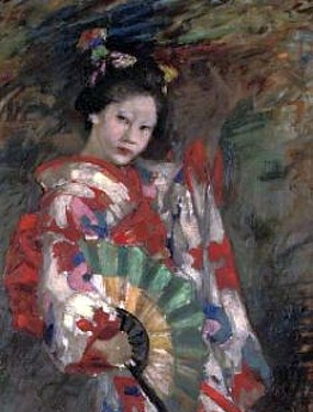 Dancing Geisha Girl