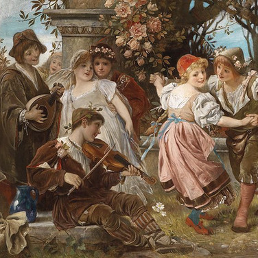 Musicians and Dancer in the Park