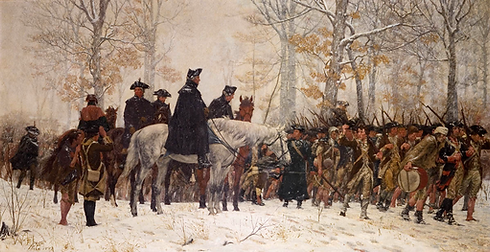 The_March_to_Valley_Forge_William_Trego.