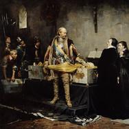 Duke Karl Insulting the Corpse of Klaus Fleming