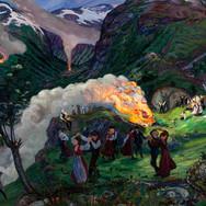 Midsummer Eve Bonfire