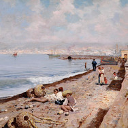 On the Beach of Naples