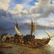 La Captura de Cuauhtemoc en el Lago de Texcoco
