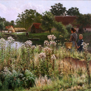 The River Lys at Astene