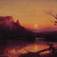 Sunset Eagle Cliff