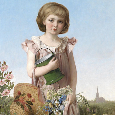 Eine Kleine Gartnerin