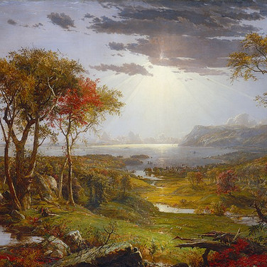 Autumn on the Hudson River