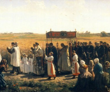 The Blessing of the Wheat in Artois