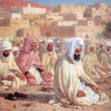 Imam Presiding Over Prayer